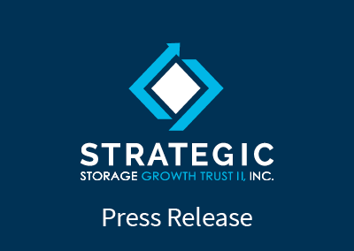 Strategic Storage Growth Trust II, Inc. Acquires 660-Unit Self Storage Facility in Seattle, Washington Suburb